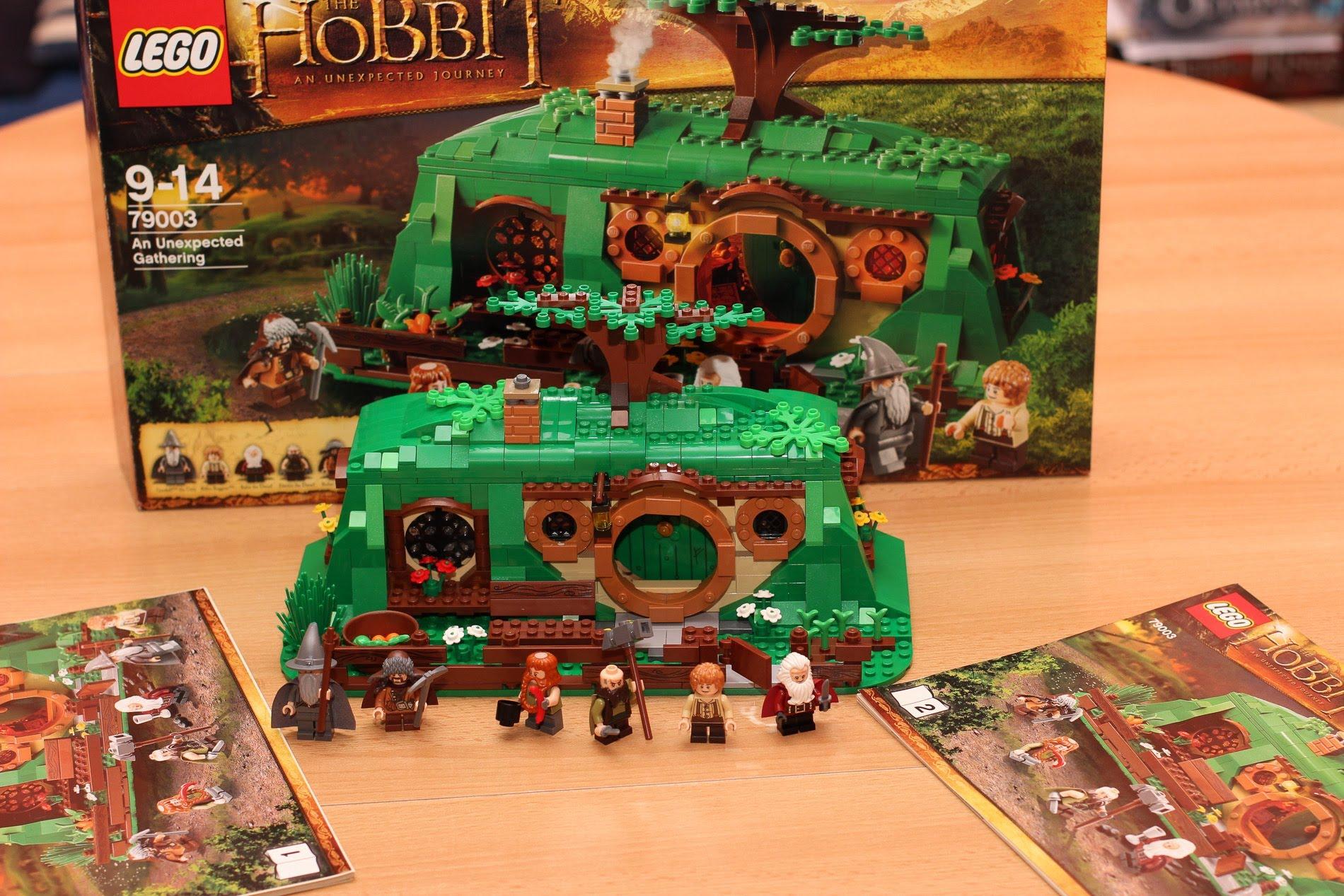 Lego hobbit zwiastun