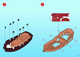 Playmobil bateau pirate notice
