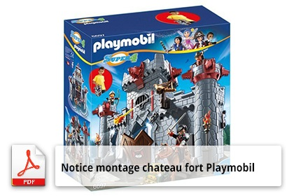 Chateau fort playmobil 5479 notice