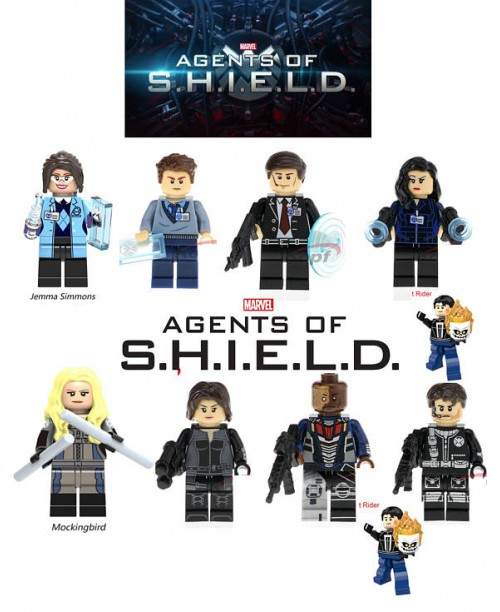 Lego ghost rider agents of shield