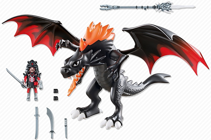 Playmobil licence dragon