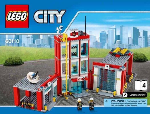 Lego junior pompier notice
