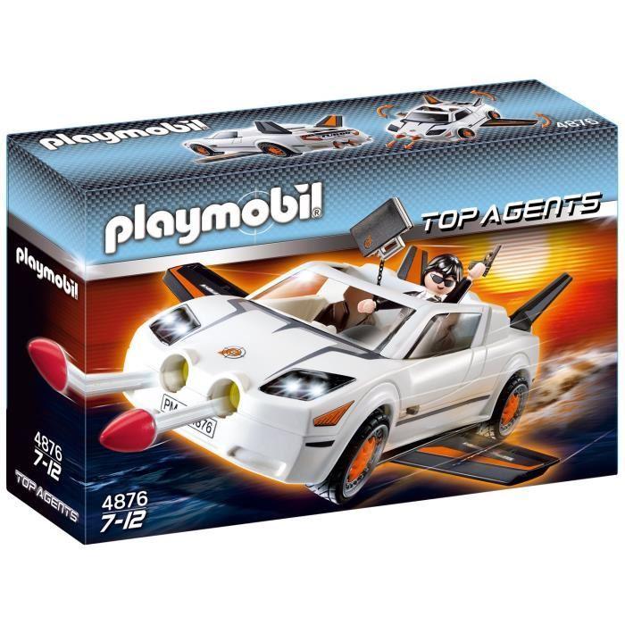 Secret Agent Playmobil Agent Jouet Secret Playmobil 2IWeH9YbED