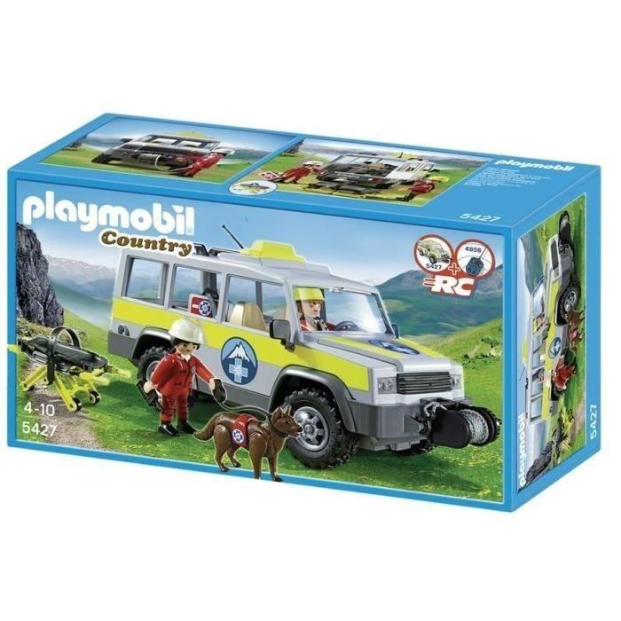 Playmobil country voiture