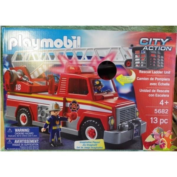 Playmobil pompier paris