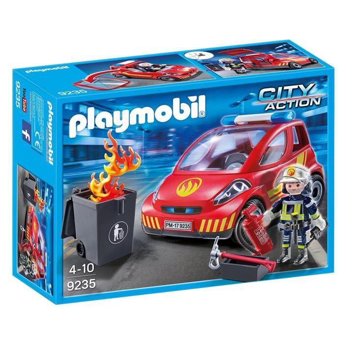 Playmobil pompier city action