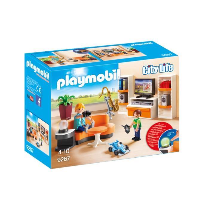 Jeu de playmobil maison moderne - zagafrica.fr