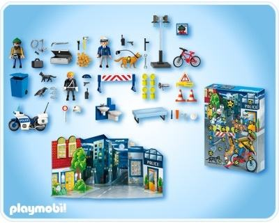 Playmobil police advent