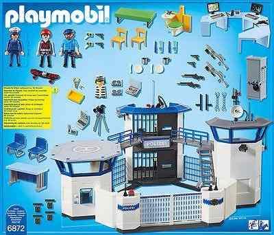 Playmobil - city action - delegacia de polícia - 6872 - sunny