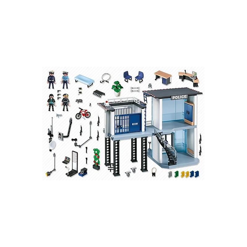 Playmobil city action komisariat policji