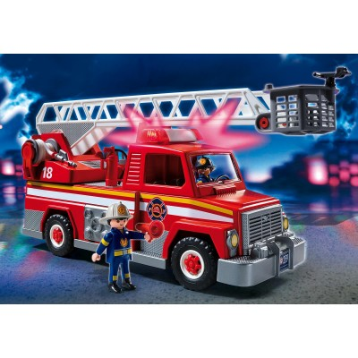 Playmobil city action rescue ladder unit