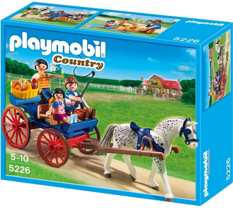 Playmobil a cheval