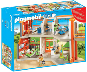 Hopital playmobil comparateur