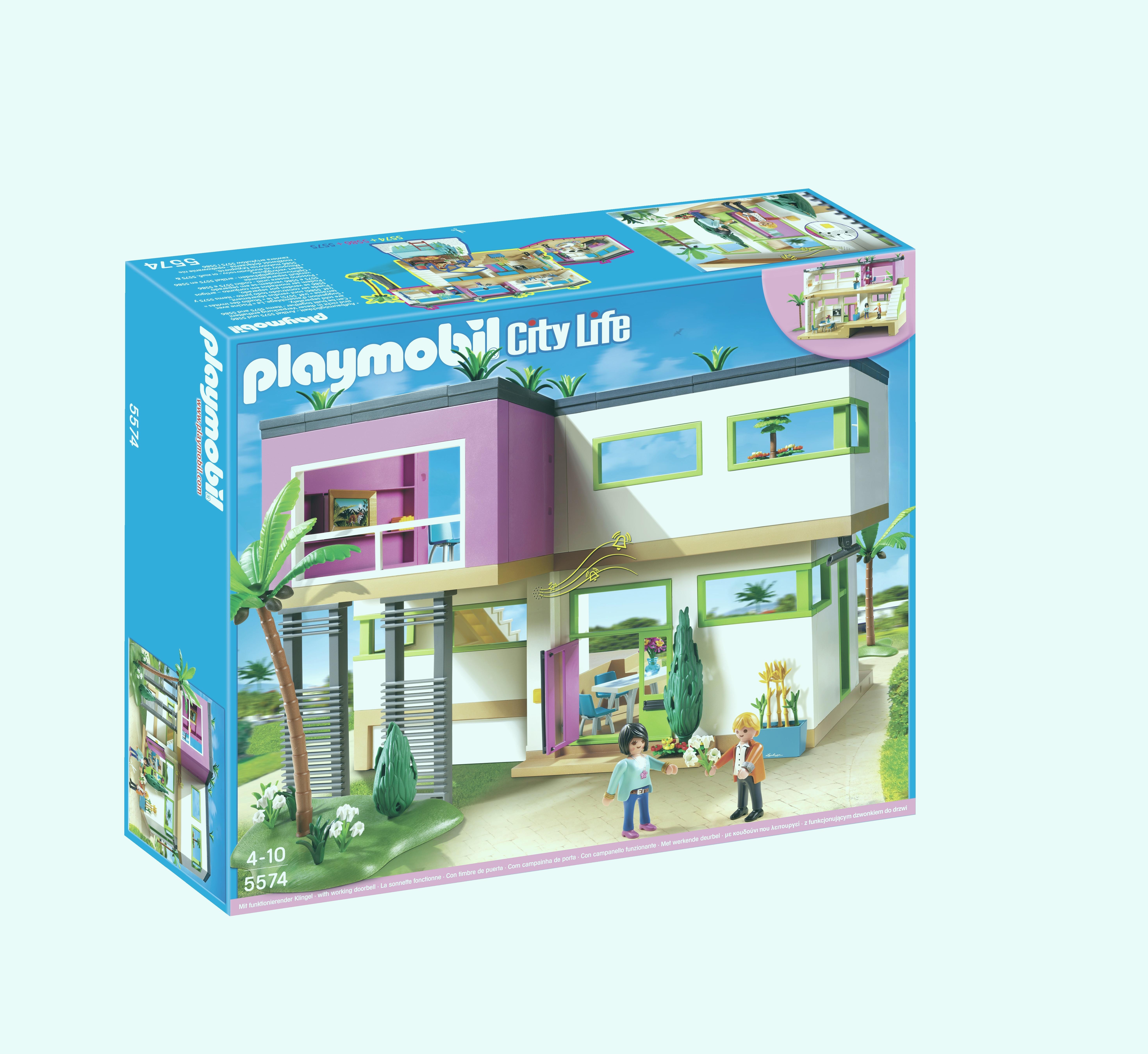 Maison moderne playmobil ebay - zagafrica.fr