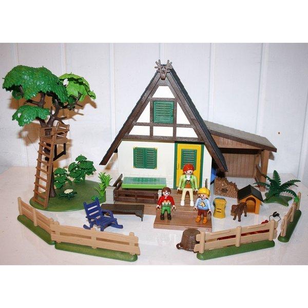 Playmobil maison de la foret