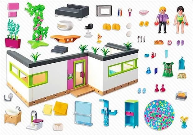 Suite maison moderne playmobil - zagafrica.fr