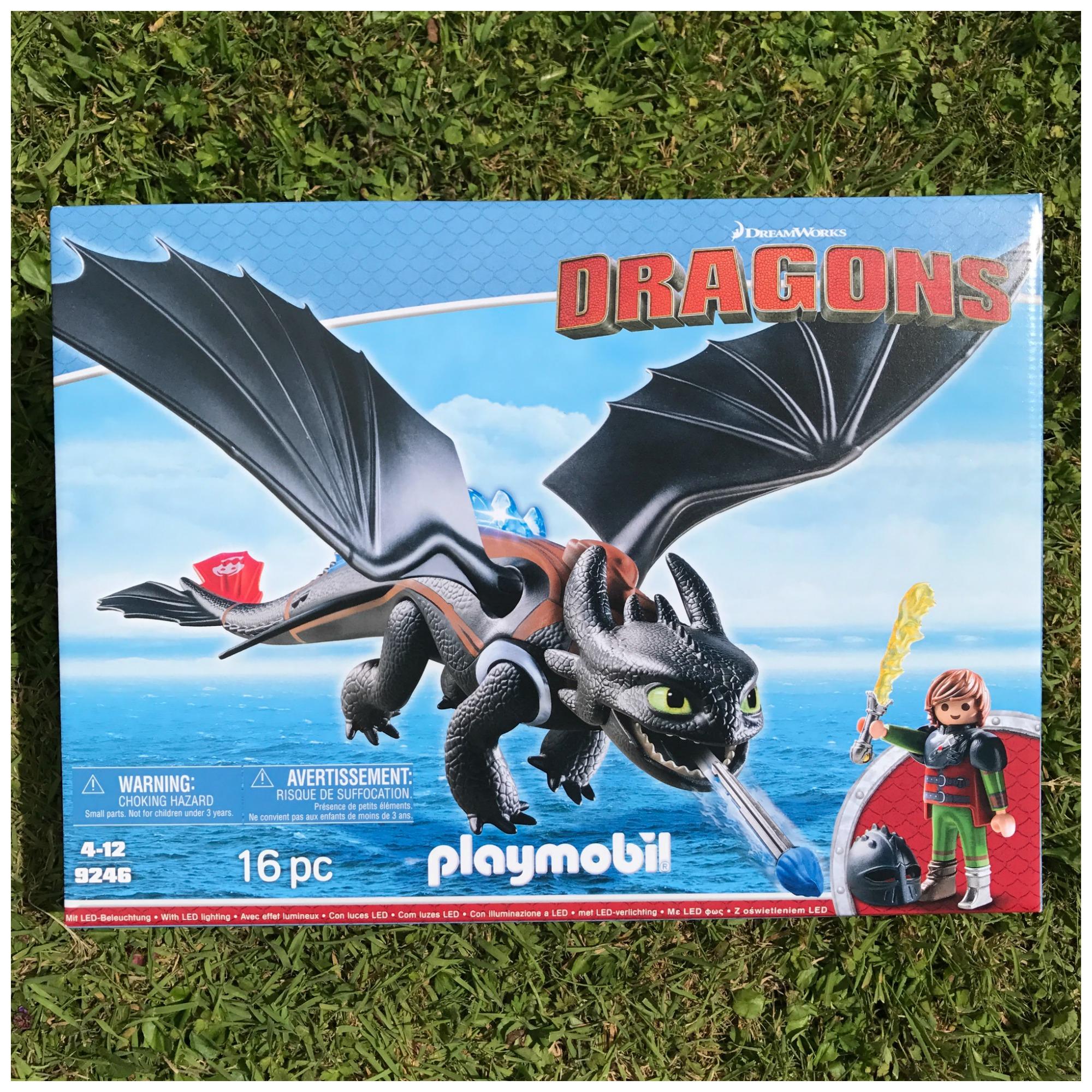 Dragon playmobil pile