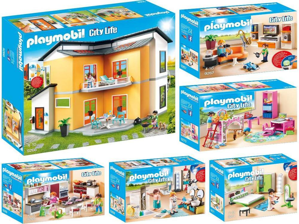Playmobil nouvelle maison moderne