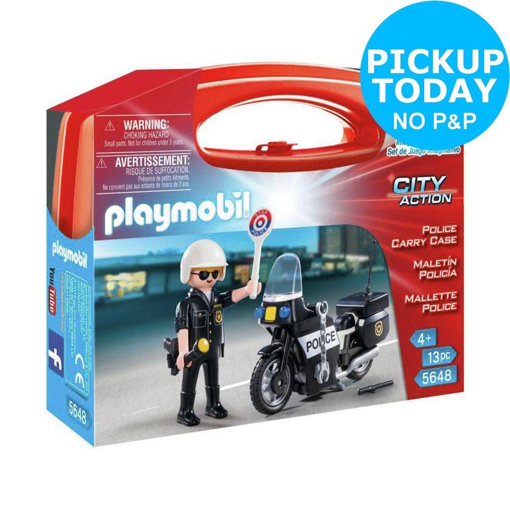 Playmobil city action argos