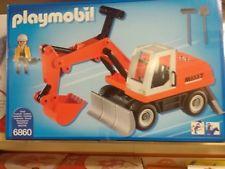Playmobil city action excavator
