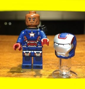 Lego iron man patriot