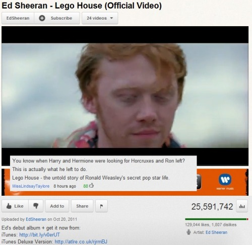 Lego house in walls