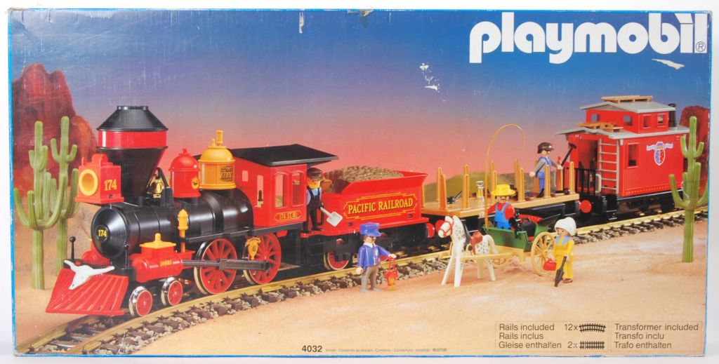 Playmobil police train