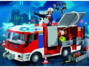 Playmobil pompier leclerc