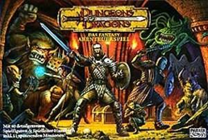 Dungeon et dragon jeux de société