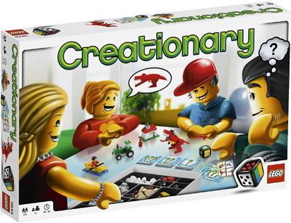 Jeux de societe lego