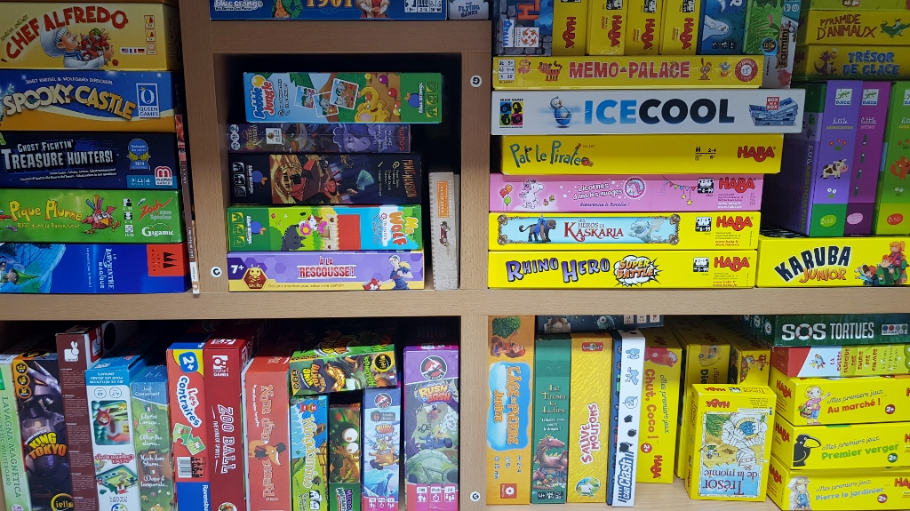 Choisir jeux de société