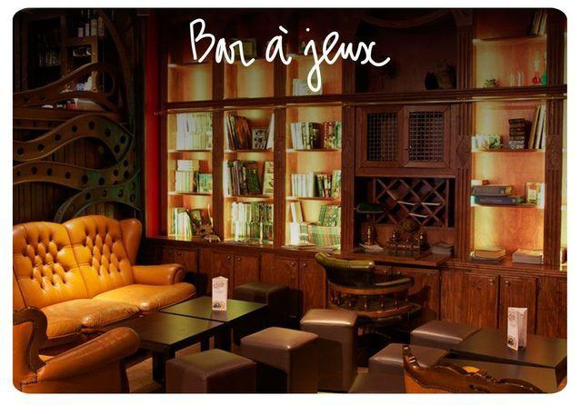 Bar jeux de société paris