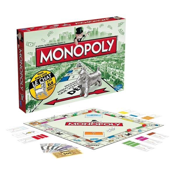 Jeux de société monopoly classique