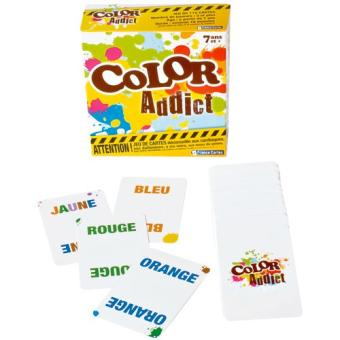 Jeux de societe color addict