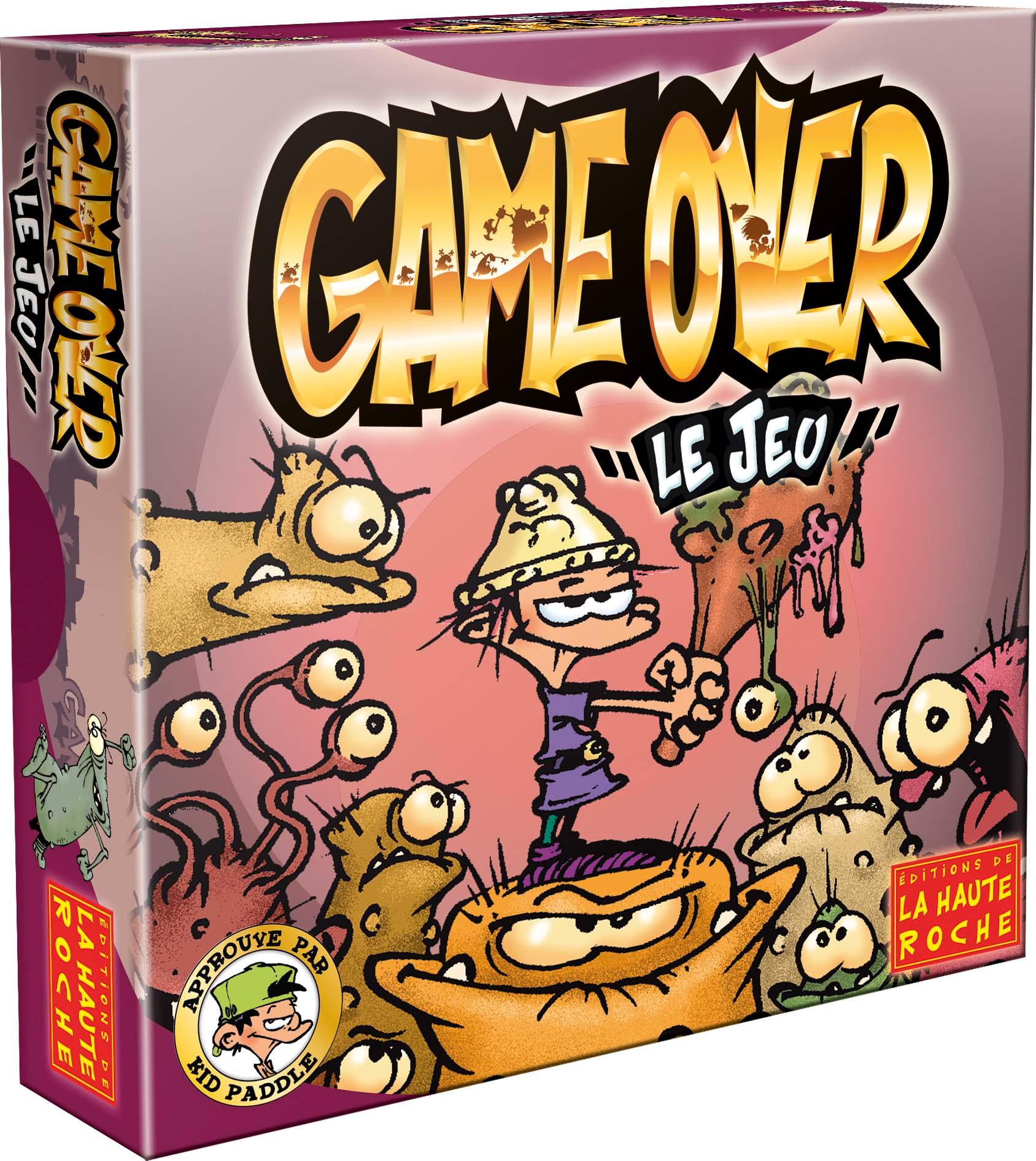 Jeux de société game over