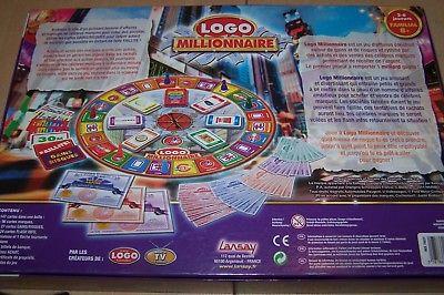 Jeux de société logo millionnaire