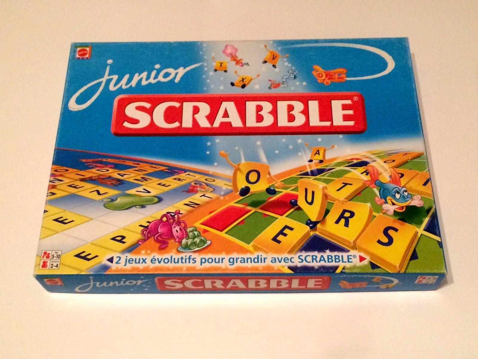 Jeux de societe scrabble junior