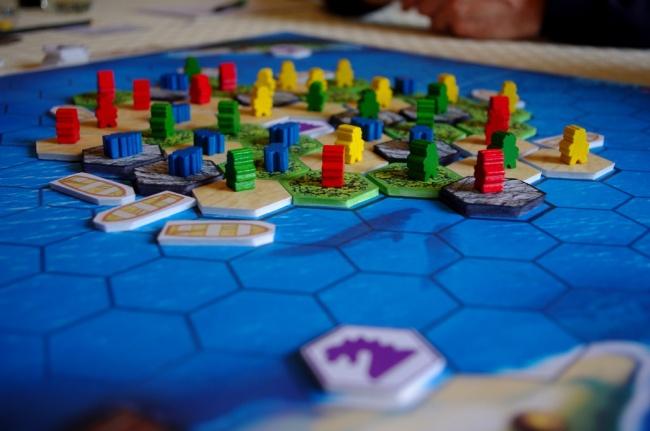 The island jeux de société