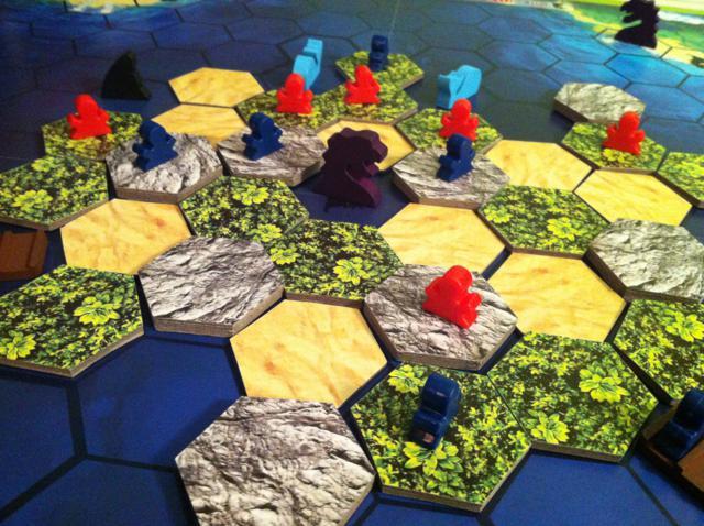 The island jeux de societe