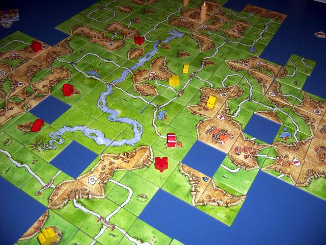Carcassonne jeux de société