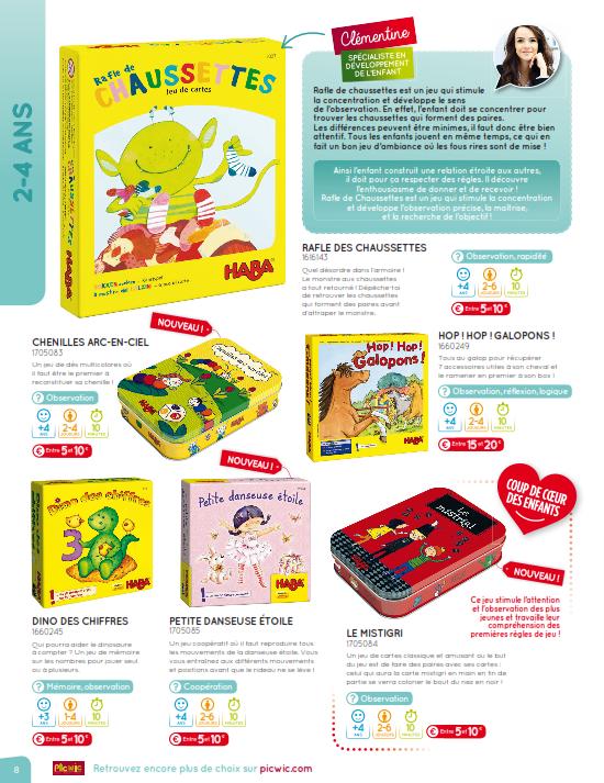 Catalogue jeux de societe