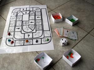 Jeux de société à construire