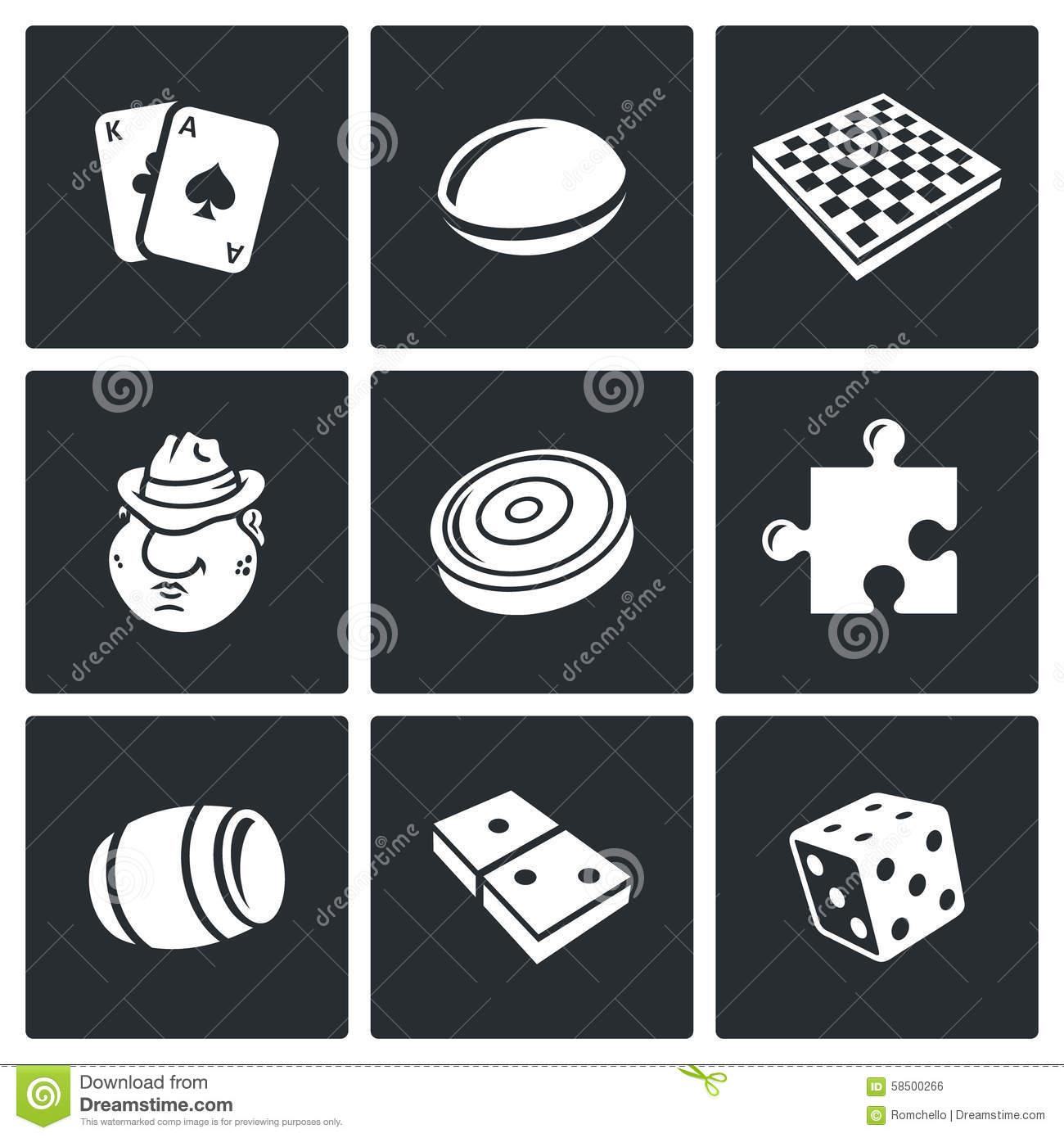 Jeux de société icone