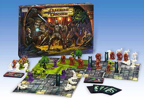 Donjon et dragon jeux de société