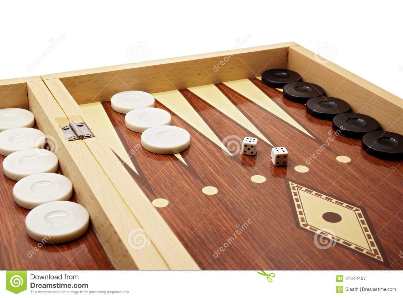 Jeux de société backgammon