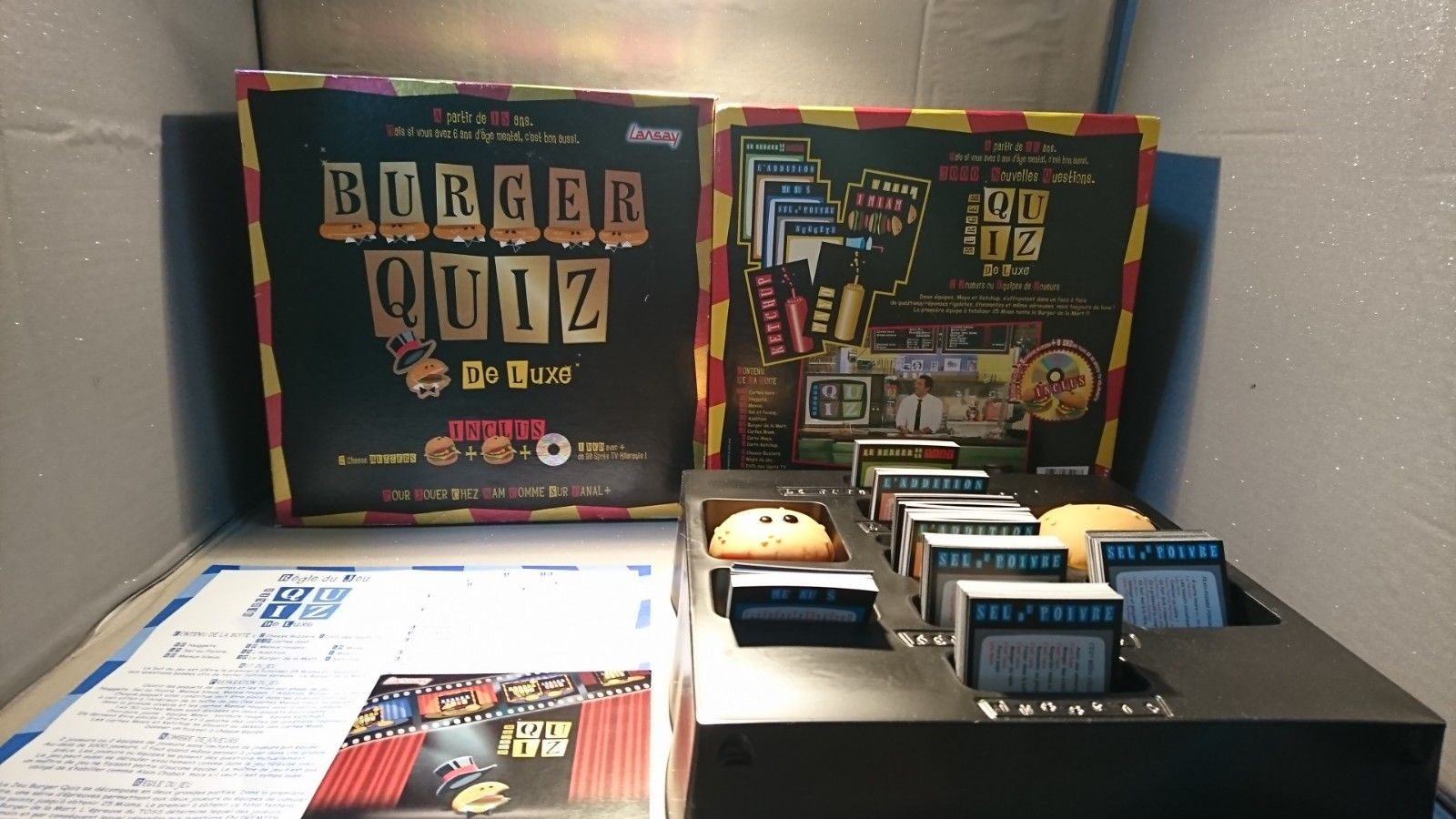 Burger quiz jeux de société