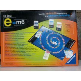 E=m6 jeux de société