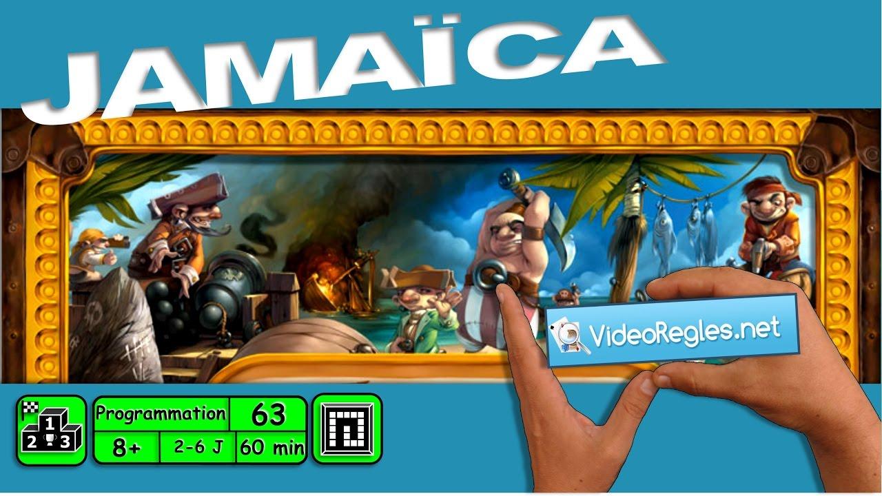 Jamaica jeux de société