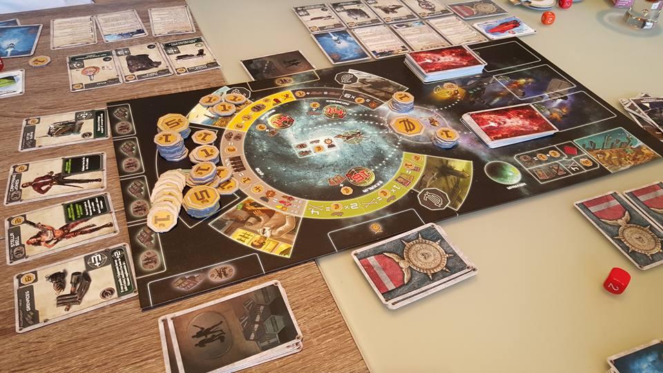 Jeux de société avec 5 dés