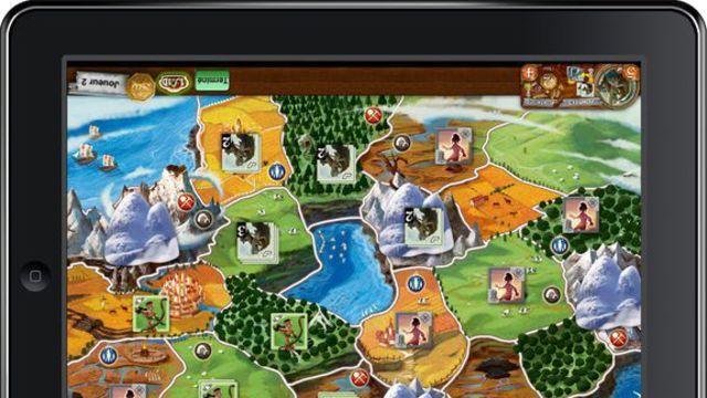 Jeux de société sur tablette